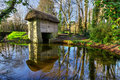 19th century watermill in Bunratty Folk Park Stock Images