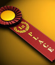 1st Place Ribbon Stock Image