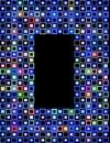 2 block frame Fotografering för Bildbyråer