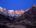 2 mount Whitney Obraz Stock