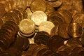 20 cent euro coins Royalty Free Stock Photos