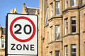 20 Mph Residential Zone Stock Images