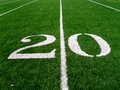 20 Yard Line (2) Royalty Free Stock Image