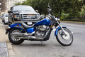 2007 Honda Shadow Aero Motorcycle Stock Image