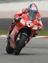2009 American Nicky Hayden of Ducati Marlboro Team Stock Photography