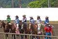 2009 de mooie Royalty a van de Rodeo van Tienerjaren Stock Foto