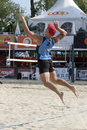 2009 FIVB CEV Lausanne Beach Volley Tournament Stock Images