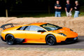 2009 Lamborghini Murcielago 670 Super Veloce Royalty Free Stock Photo