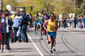 2010 Boston Marathon Elite Male Runners Royalty Free Stock Photography