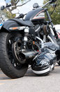 A 2010 built Harley Davidson Sportster 883R Royalty Free Stock Photos