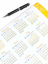 2010 Calendar Royalty Free Stock Photo