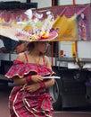 2010 karibiska karneval leicester uk Arkivbilder