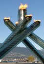 2010 Olympic Cauldron Stock Images