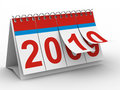 2010 year calendar on white backgroung Royalty Free Stock Image