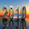 2010 Year Dawn Royalty Free Stock Photo