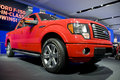 2011 Ford F150 Truck at NAIAS Royalty Free Stock Photo