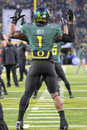 2011 PAC-12 Championship Game - Josh Huff Stock Images