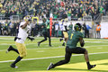 2011 PAC-12 Championship Game - Josh Huff Royalty Free Stock Photography