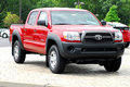 2011 Toyota Tacoma truck Royalty Free Stock Images