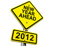 2012 Ahead Stock Photo