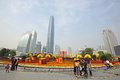 2012 chinese spring festival in guangzhou Royalty Free Stock Photo