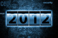 2012 Counter Royalty Free Stock Images