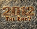 2012 The End Stock Photo