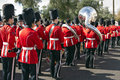 2012 Fiesta Bowl Parade College Marching Band Royalty Free Stock Photography