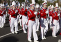 2012 Fiesta Bowl Parade College Marching Band Royalty Free Stock Photos