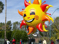 2012 Fiesta Bowl Parade Large Inflatables Stock Photo