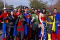 2012 Fiesta Bowl Parade Super Heroes Royalty Free Stock Photo
