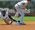 2012 Minor League Baseball action Royalty Free Stock Photo