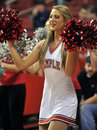 2012 NCAA Basketball - cheerleader Stock Images