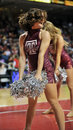 2012 NCAA Basketball - cheerleader Stock Photo