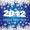 2012 new year Royalty Free Stock Photo