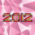 2012 theme Royalty Free Stock Photo