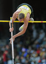 2012 Track and Field - High School Pole Vault Royalty Free Stock Photo