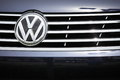 2012 VW Grill Emblem Stock Photos