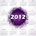 2012 wworld calendar design Stock Photo