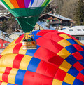 2013 35th Hot Air Balloon Festival, Switzerland Royalty Free Stock Photo