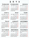 2013 calendar year of the snake Stock Photography