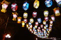2013 Chinese New Year lantern festival and temple fair Royalty Free Stock Images