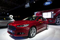 2013 Ford Mondeo at Paris Motor Show Royalty Free Stock Images