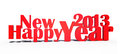 2013 happy new year Royalty Free Stock Photography
