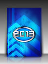 2013 Happy New Year background. EPS 10. Stock Photos