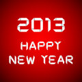 2013 Happy new year, happy new year card Royalty Free Stock Images