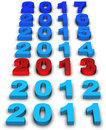 2013 New Year Royalty Free Stock Photos