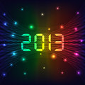 2013 New year background Stock Photography