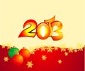 2013 new year backround Royalty Free Stock Images