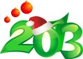 2013 new year backround Stock Photos